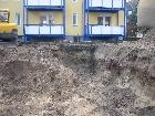 Galerie Mietshaus Dachflächen werden versickert (Abkoppelung) anzeigen.